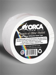 Highly reflective and diffuse, plastic microfiber seam tape. Used in hydroponic grow rooms to increase total lighting output / plant stimulation through even and efficient distribution of light.  Finish off your indoor garden with a professional look. 12